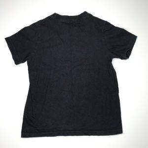 Nike Shirts & Tops - Nike Black Just Do It Red Swoosh Tee A000462